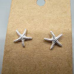 Pendientes Plata Estrella de Mar
