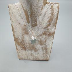 Colgante plata Minera Natural